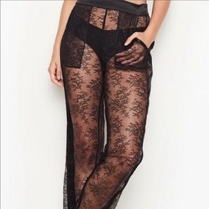 Gorgeous all over chantilly lace pajama pant